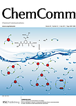 "A. R. Stefankiewicz, J. K. M. Sanders, ""Diverse topologies in dynamic combinatorial libraries from tri- and mono-thiols in water: sensitivity to weak supramolecular interactions""; Chem. Comm., 2013, 49 (52), 5820 – 5822. Cover Article."
